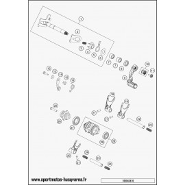 Mécanisme Chgt vitesse (Husqvarna TC 125 2017)
