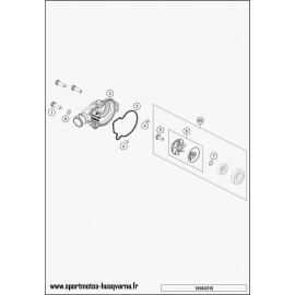 Pompe à eau (Husqvarna TC 125 2017)