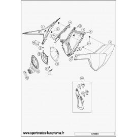 Filtre à air (Husqvarna TC 250 2017)