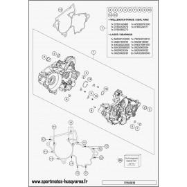 Carter moteur (Husqvarna TC 250 2017)
