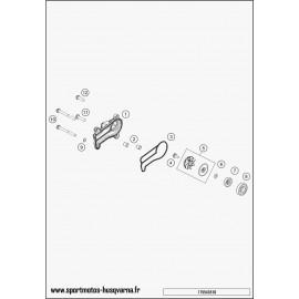 Pompe à eau (Husqvarna TC 250 2017)
