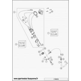 Pompe à essence (Husqvarna FE 501 2017)