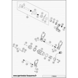 Mécanisme Chgt vitesse (Husqvarna FE 501 2017)