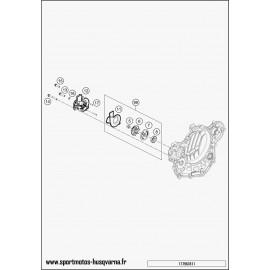 Pompe à eau (Husqvarna FE 501 2017)