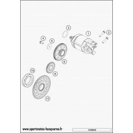 Démarreur électrique (Husqvarna FE 501 2017)