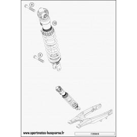 Amortisseur arrière (Husqvarna FE 250 2017)