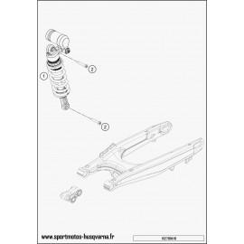 Amortisseur arrière (Husqvarna SUPERMOTO 701 2017)