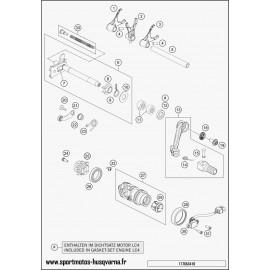 Mécanisme Chgt vitesse (Husqvarna SUPERMOTO 701 2017)