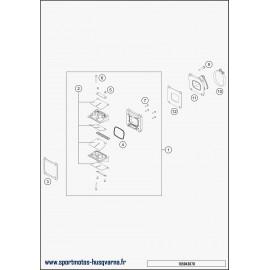 Boîte à clapets (Husqvarna TE 250 2018)