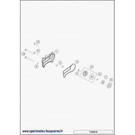 Pompe à eau (Husqvarna TE 250 2018)