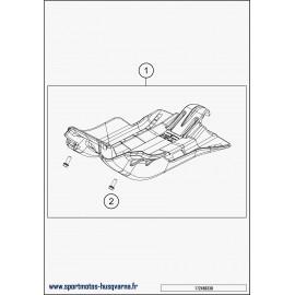 Protection moteur, sabot (Husqvarna TE 300 2018)