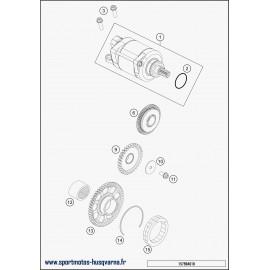 Démarreur électrique (Husqvarna FE 250 2018)