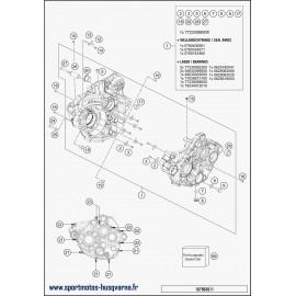 Carter moteur (Husqvarna FE 350 2018)