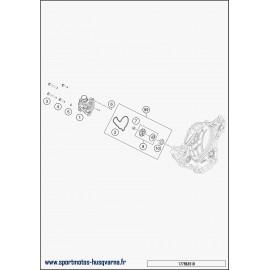 Pompe à eau (Husqvarna FE 350 2018)