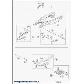 Bras oscillant (Husqvarna FE 450 2018)
