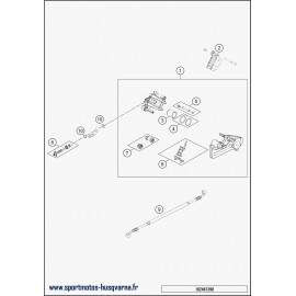 Etrier de frein arrière (Husqvarna FE 450 2018)
