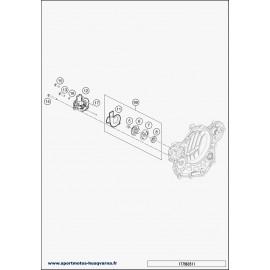 Pompe à eau (Husqvarna FE 450 2018)
