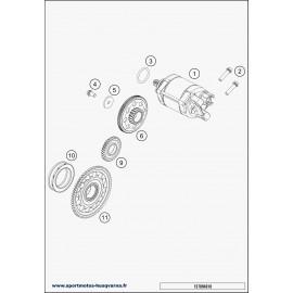 Démarreur électrique (Husqvarna FE 450 2018)
