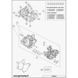 Carter moteur (Husqvarna TC 125 2016)