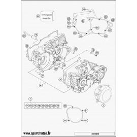 Carter moteur (Husqvarna TC 250 2016)