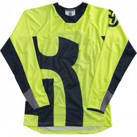 RAILED SHIRT YELLOW L