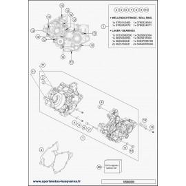 Carter moteur (Husqvarna TC 125 2018)