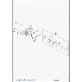 Pompe à eau (Husqvarna TC 125 2018)