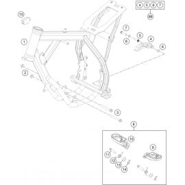 Cadre (KTM 50 SX 2018)