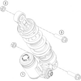 Amortisseur arrière (KTM 50 SX 2018)