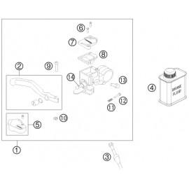 Cylindre de frein avant (KTM 50 SX 2018)