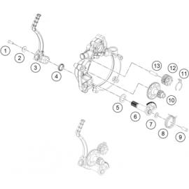 Kick de démarrage (KTM 50 SX 2018)