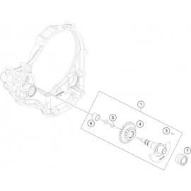 Arbre d'équilibrage (KTM 350 SX-F 2018)