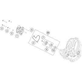 Pompe à eau (KTM 350 SX-F 2018)