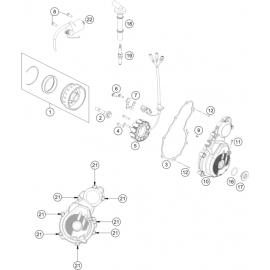 Allumage (KTM 350 SX-F 2018)