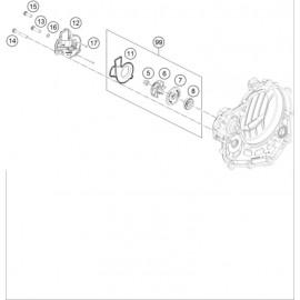 Pompe à eau ( KTM 450 SX-F 2018 )