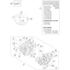 Carter moteur ( Husqvarna FE 250 2016 )
