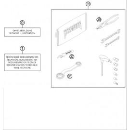 Kit accessoire ( Husaberg TE 300 2014 )