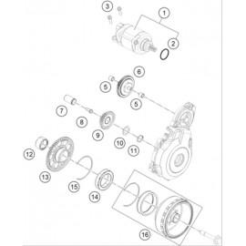 Démarreur électrique ( Husaberg FE 350 2014 )