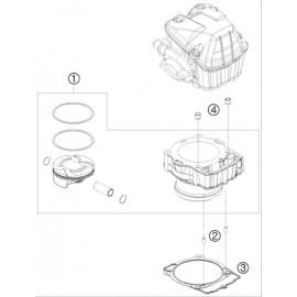 Cylindre ( Husaberg FE 450 2014 )