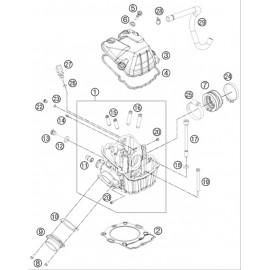 Culasse ( Husaberg FE 501 2014 )