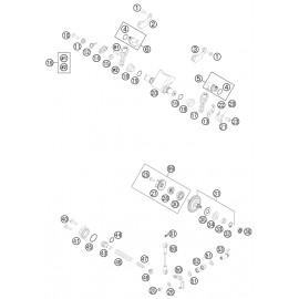 Valves d'échappement ( Husqvarna TE 250 2014 )