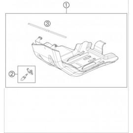 Protection moteur, sabot ( Husqvarna FE 450 2014 )