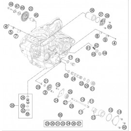 pompe à huile ( Husqvarna FE 450 2014 )