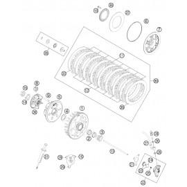Embrayage ( Husqvarna FE 501 2014 )