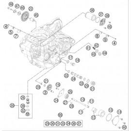 pompe à huile ( Husqvarna FE 501 2014 )
