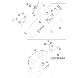 Echappement ( Husqvarna TE 125 2015 )