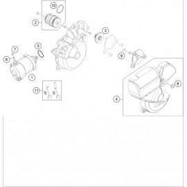Démarreur électrique ( Husqvarna TE 250 2015 )
