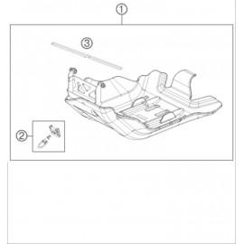Protection moteur, sabot ( Husqvarna FE 350 2015 )