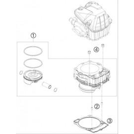 Cylindre ( Husqvarna FE 501 2015 )