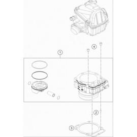Cylindre ( Husqvarna FE 501 2017 )